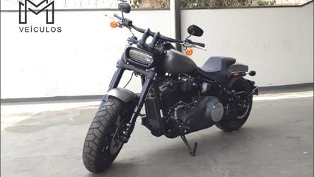 Harley Davidson Fat Bob 114 Gasolina 2018