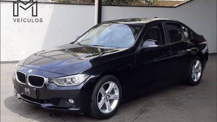 BMW 320 Active Flex 2.0 completo interior caramelo 2015