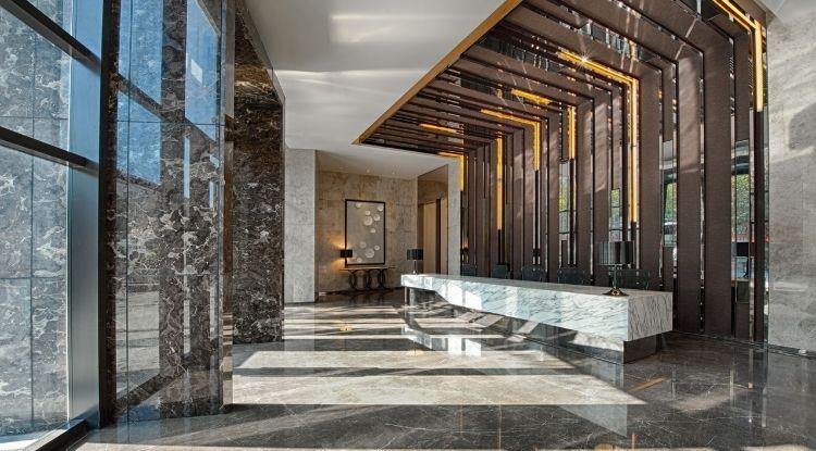 stellar office reception natural light
