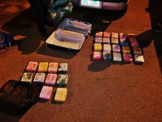 Tacuarembó: incautan más de 30 kg de cocaína en Ruta 5