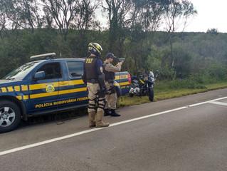 PRF divulga balanço da operação Tiradentes na região da delegacia de Livramento