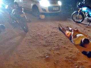 Brigada Militar prende dupla armada e com moto roubada
