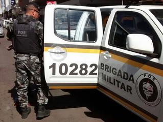 Falso sequestro de jovens mobiliza BM e revela apreensão em Rivera por envolvimento com drogas