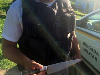 Brigada Militar evita suicídio de idoso na vila Cruzeiro