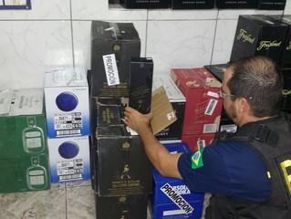 PRF apreende bebidas e aparelhos de ar-condicionado em Rosário do Sul