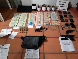 Varios allanamientos realizados en Maldonado