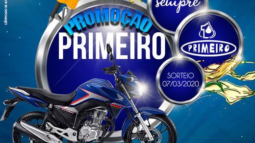 Promoção: Posto Primeiro vai presentear você com uma Honda Titan zerinho