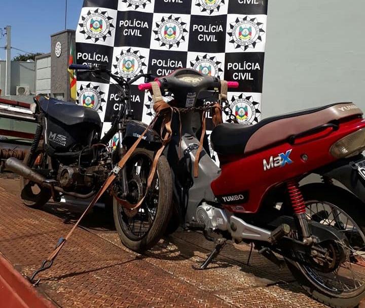 policia civil foragido motos