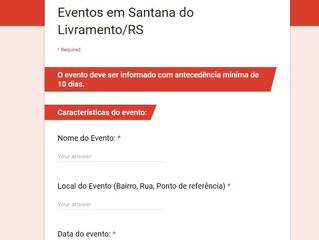 Brigada disponibiliza comunicações para eventos online
