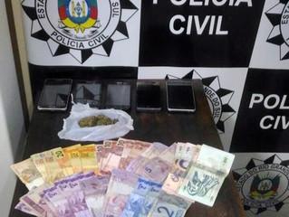 Investigado por tráfico de drogas é preso em flagrante no Armour