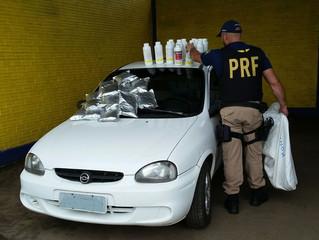 PRF flagra contrabando de agrotóxicos na BR-293