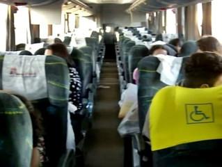 Quadrilha ataca excursão que seguia para Rivera no Uruguai