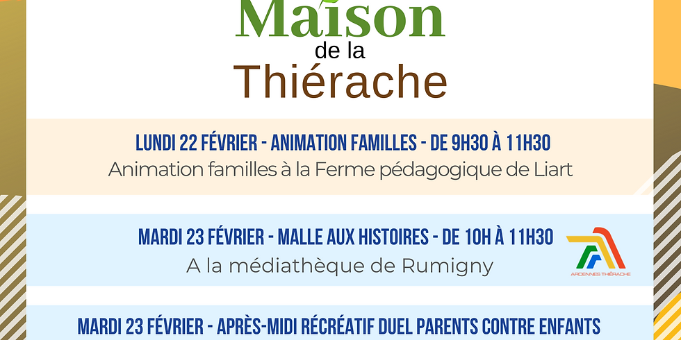 Animations familles !
