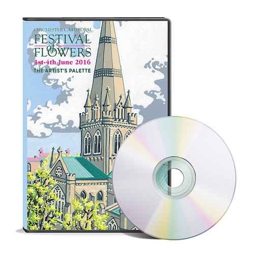 Chichester Cathedral Festival of Flowers 2016 DVD