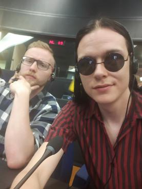 EU:n päämajassa Antti Moisanderin kanssa
