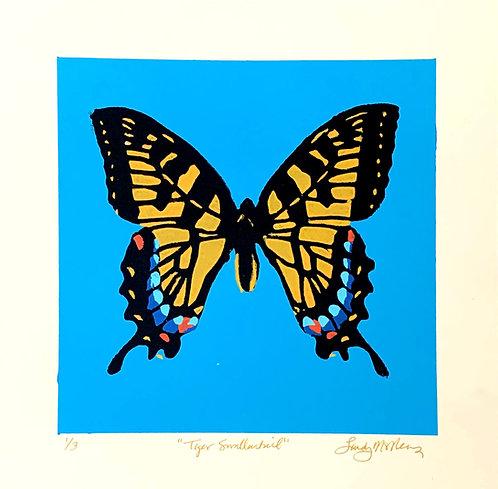 """Tiger Swallowtail, 12x12"""""""