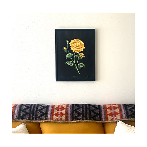 "Yellow Rose, 18x24"""