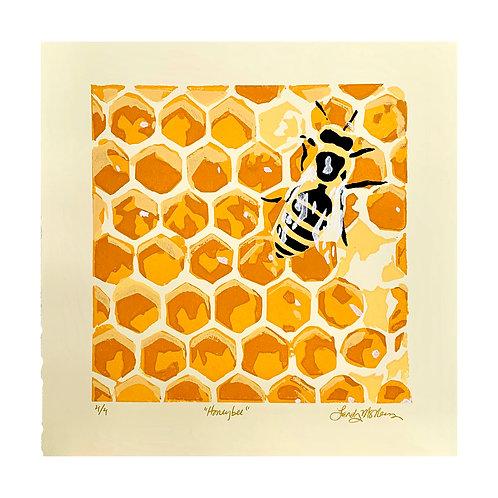 """Honey Bee, 12x12"""""""