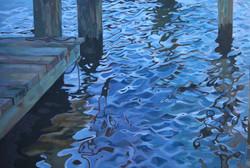 Calm Reflection: Chesapeake Bay