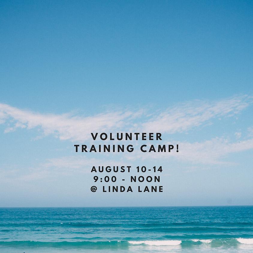 Volunteer Training Camp, August 10-14