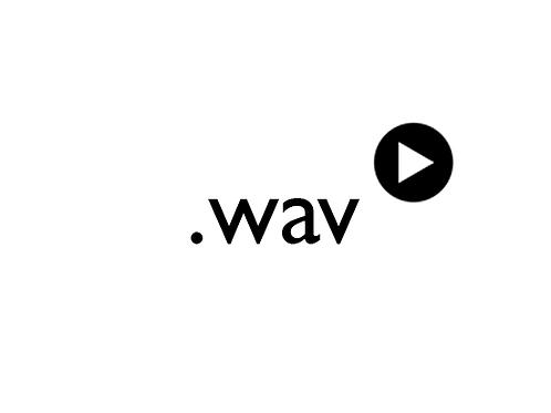 Alkuperäinen miksaamaton äänitiedosto (wav)