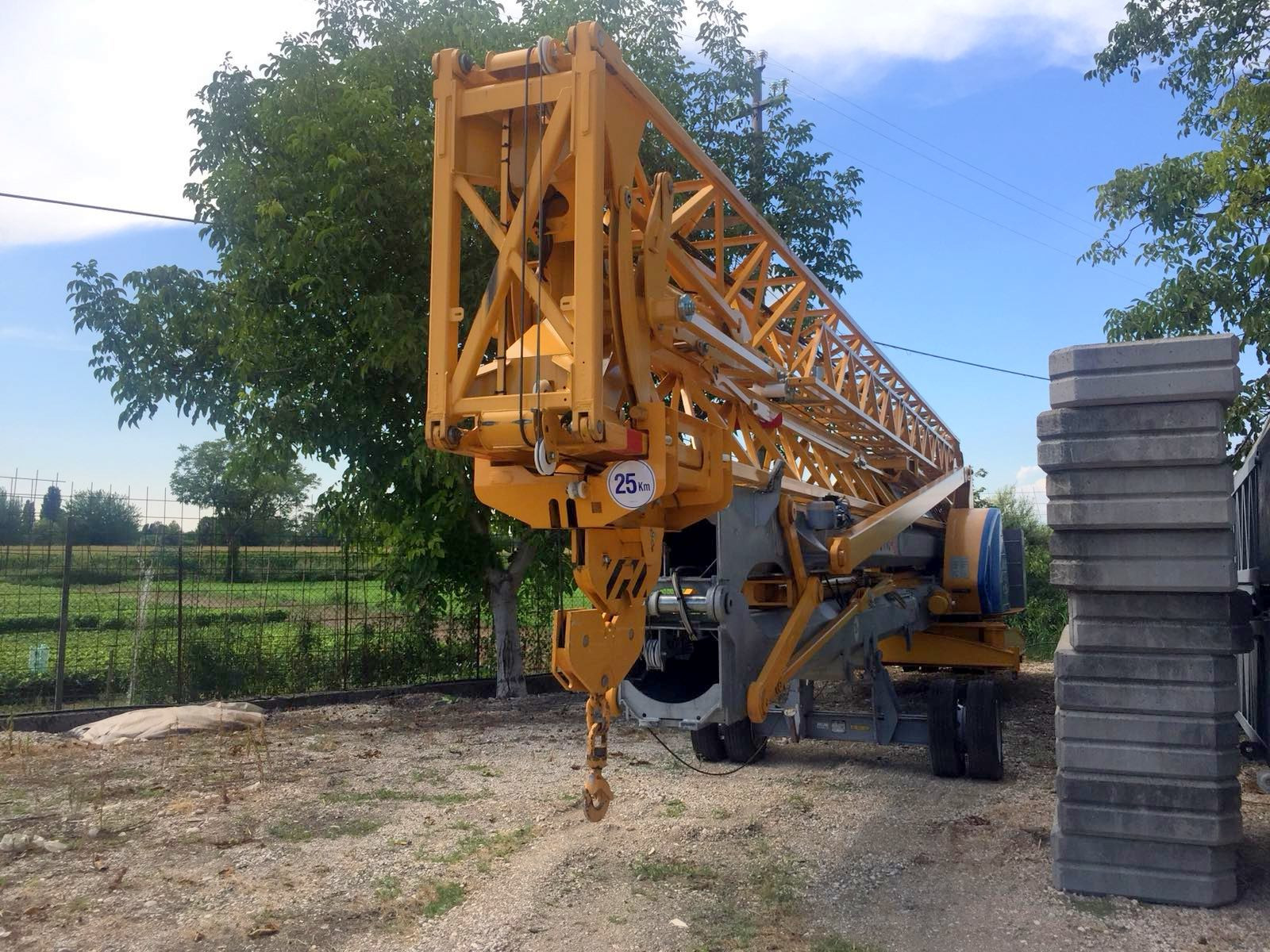 Fullscreen Page   Mightservice GmbH - used potain tower cranes