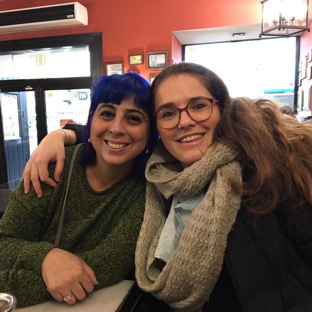 Leticia Rovira and Cecilia Molla