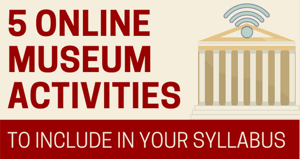 5 Online Museum Activities to Include in Your Syllabus