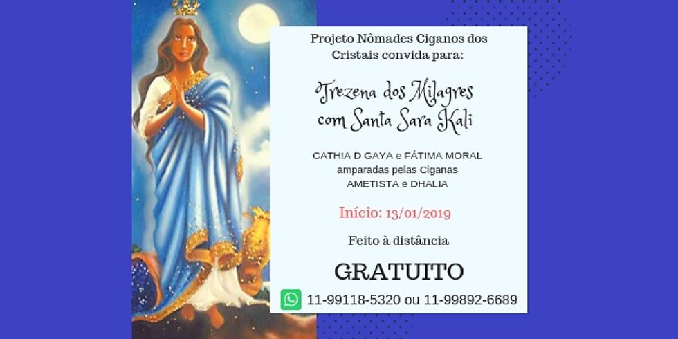 Gratuito - Trezena dos Milagres de Santa Sara Kali