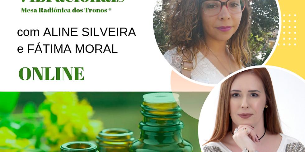 Florais Vibracionais dos Tronos - Curso EAD - Condição Especial para o Mês de Setembro
