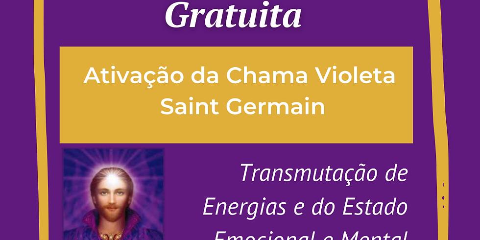 03/04/2021 - Gratuito - Ativação da Chama Violeta