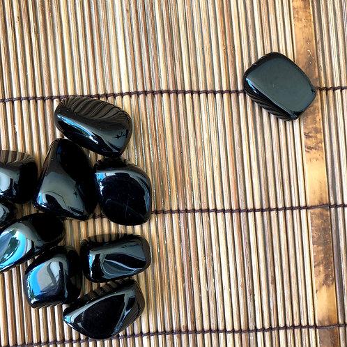 Obsediana Negra +-3/4 cm - Unidade