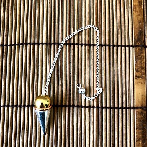 Pêndulo Metal  Testemunho com cobre