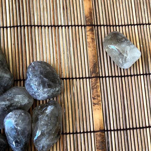 Quartzo Fumê Rolado+-3/4 cm