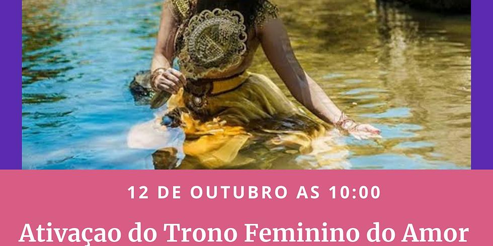 12/10 - Ativação do Trono Feminino do Amor - Oxum - Nossa Senhora Aparecida