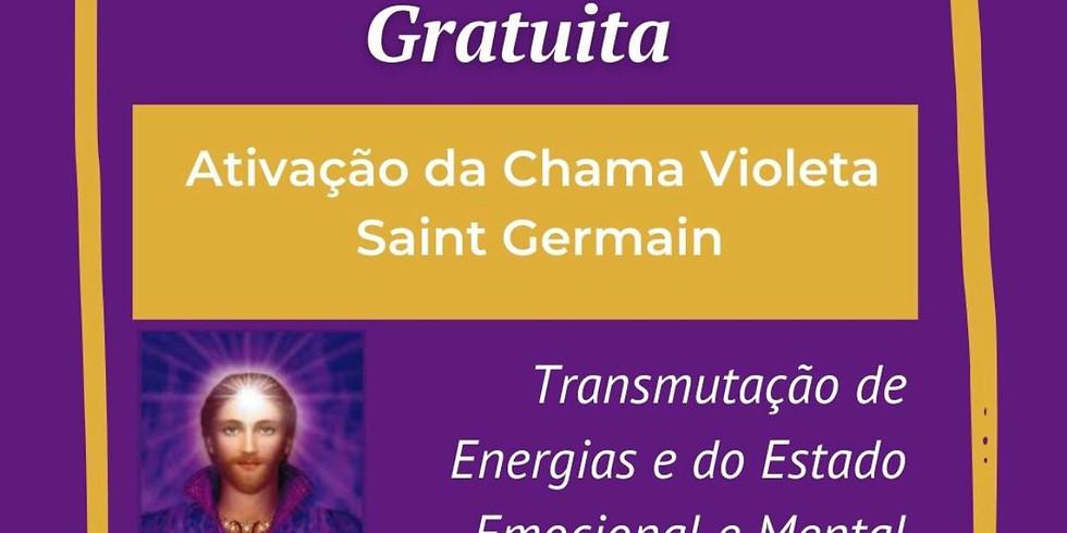 27/03/2021 - Gratuito - Ativação da Chama Violeta