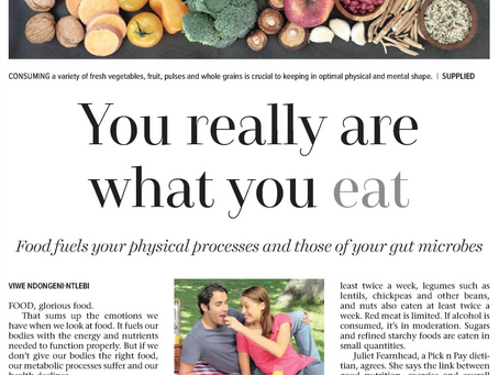 You really are what you eat