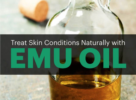 EMU Oil Benefits Skin & Treats Skin Conditions Naturally