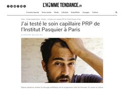L'HOMME TENDANCE - INSTITUT PASQUIER
