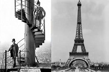 CP : Un tronçon de l'escalier de la Tour Eiffel vendu 275 000€