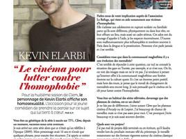 INTERVIEW KEVIN ELARBI - GAZELLE MAGAZINE