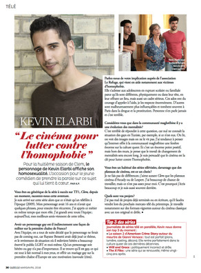 INTERVIEW KEVIN ELARBI - GAZELLE MAGAZINE