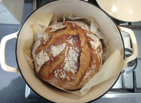 #ThatTranslatorCanCook week 34: Sourdough bread