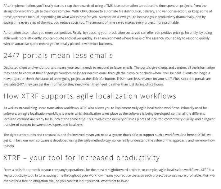 XTRF Streamline production2.JPG