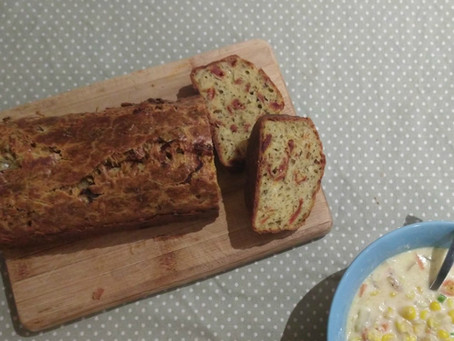 #ThatTranslatorCanCook week 24: Savoury sundried tomato loaf