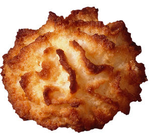 Picture of a coconut-based macaroon
