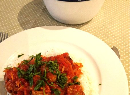 #ThatTranslatorCanCook week 41: Sausage Rougail