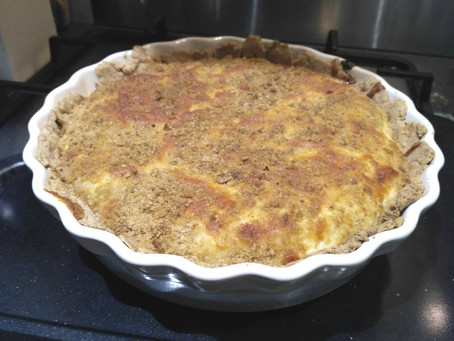 #ThatTranslatorCanCook week 18: Leek tart