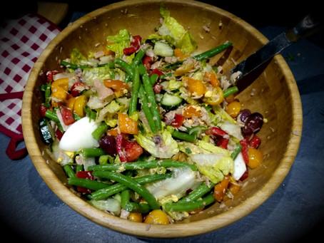 #ThatTranslatorCanCook: week 2: Niçoise Salad