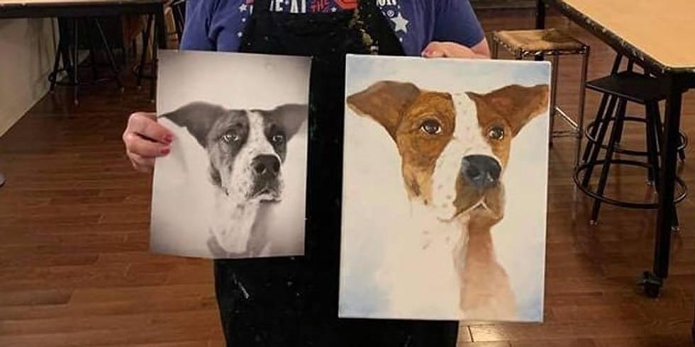 Paint Your Pet with Dakota Lajeunesse!